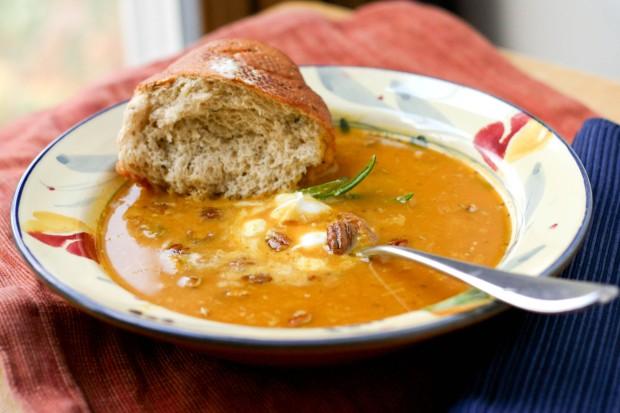 Sweet Uchiki Kuri Soup