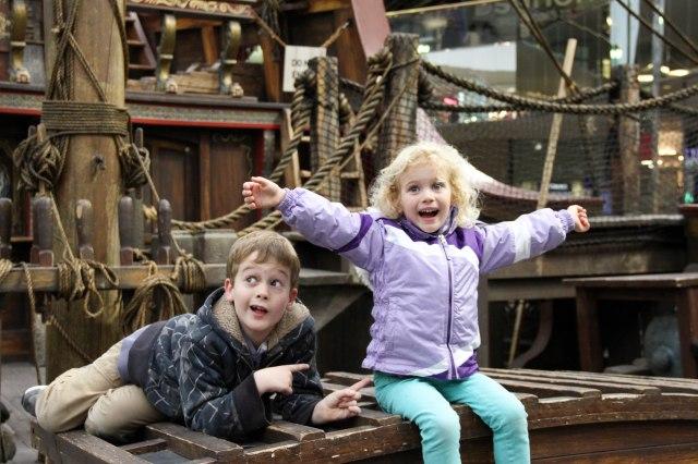 Columbus' ship