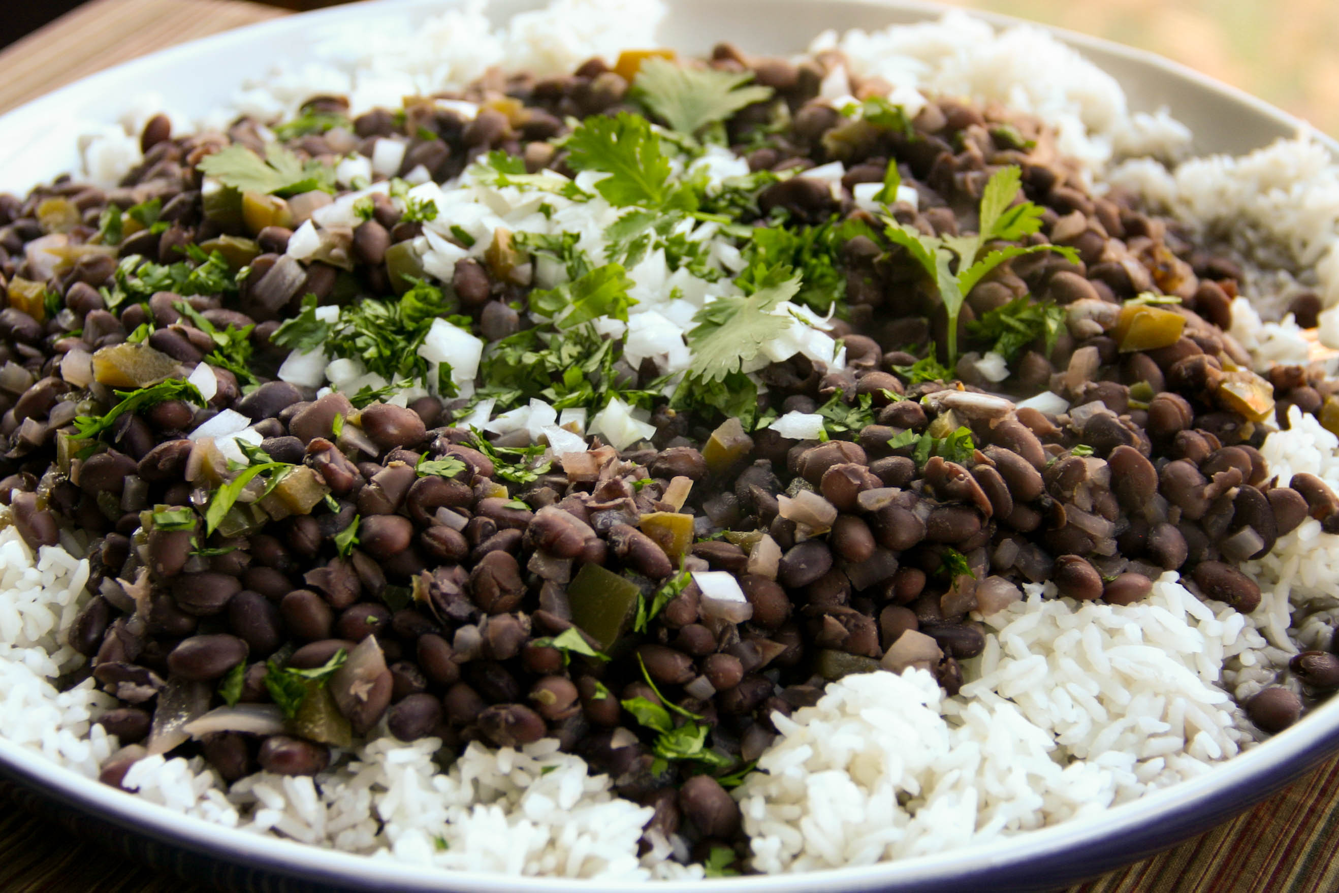 black beans and rice to cuban beans and rice with black beans and rice ...
