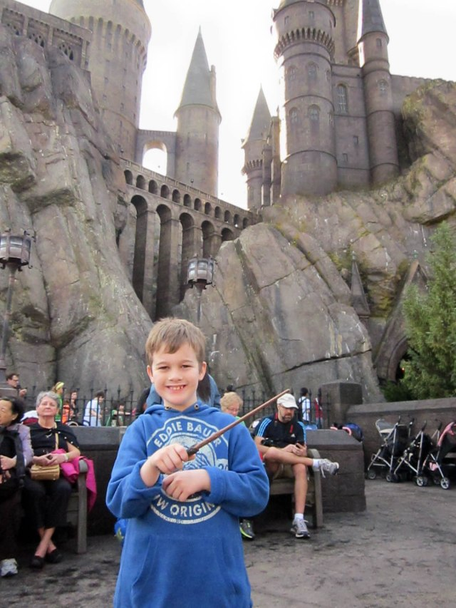 Mr. N tests out his magical abilities at Hogwarts!