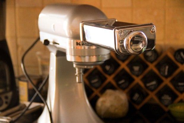 mixer and pasta press