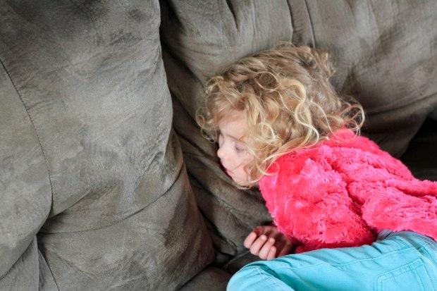 sleeping Miss A
