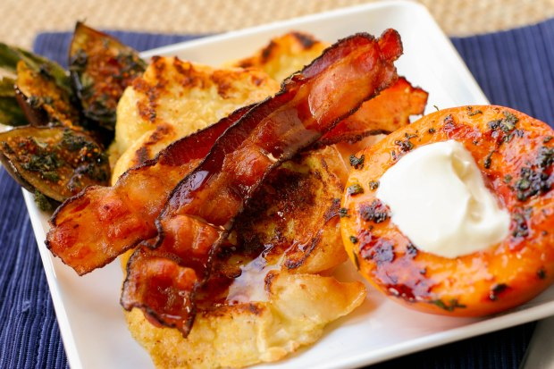 Peaches and Figs French Toast