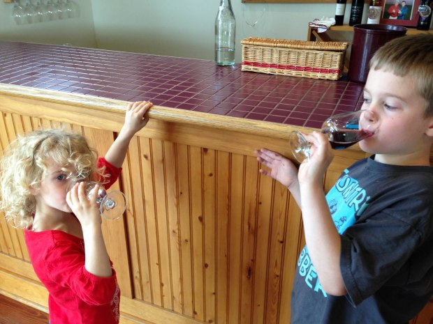 grape juice drinkers