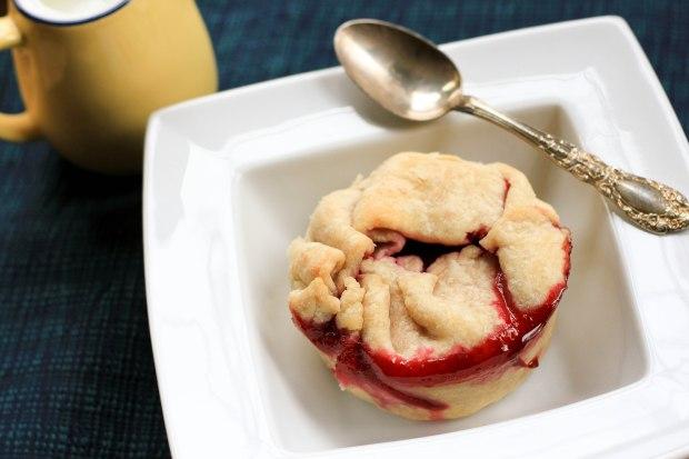 individual raspberry pie