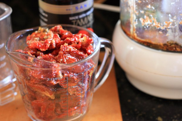 sun dried tomatoes and tamari