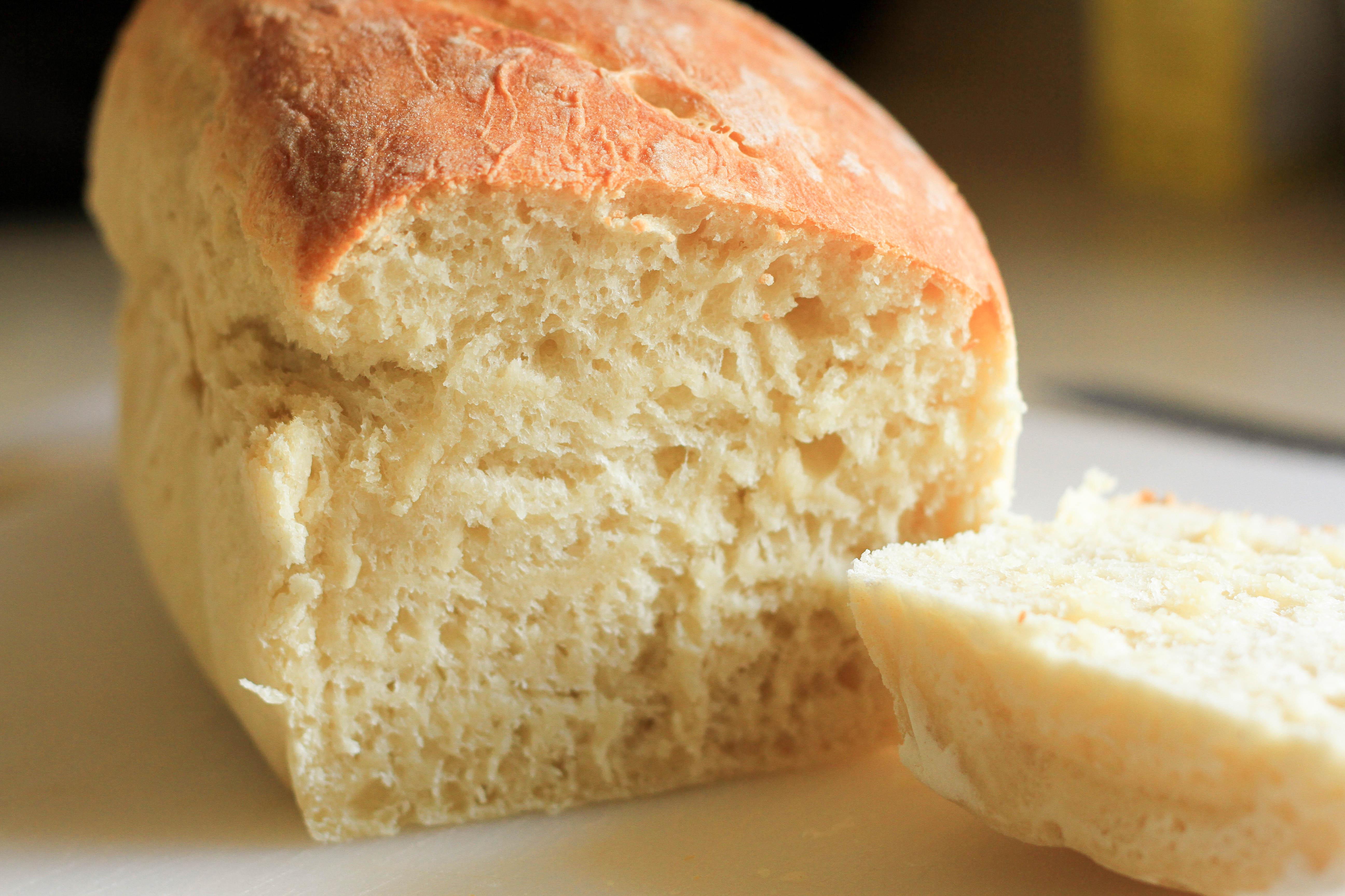 Billowy Off White Bread Recipe — Dishmaps