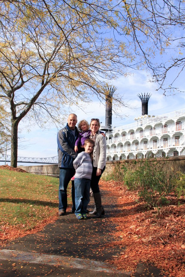 family at American Queen