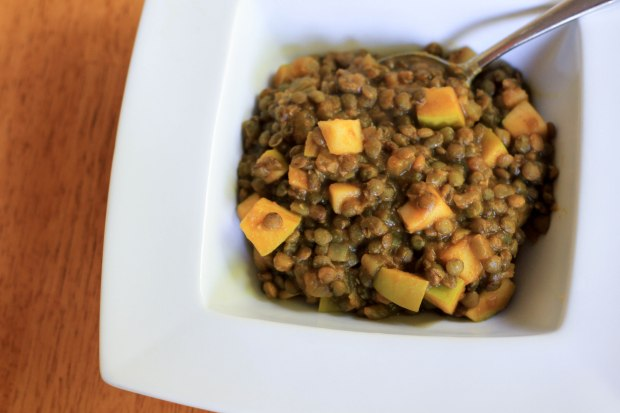 lentil curry for fall