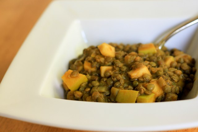 curried pumpkin