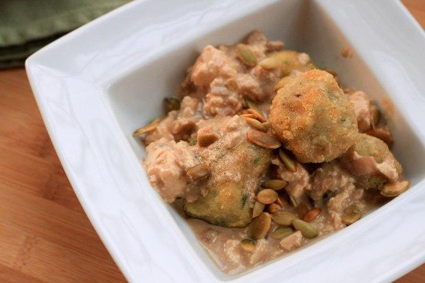 garam masala dumplings