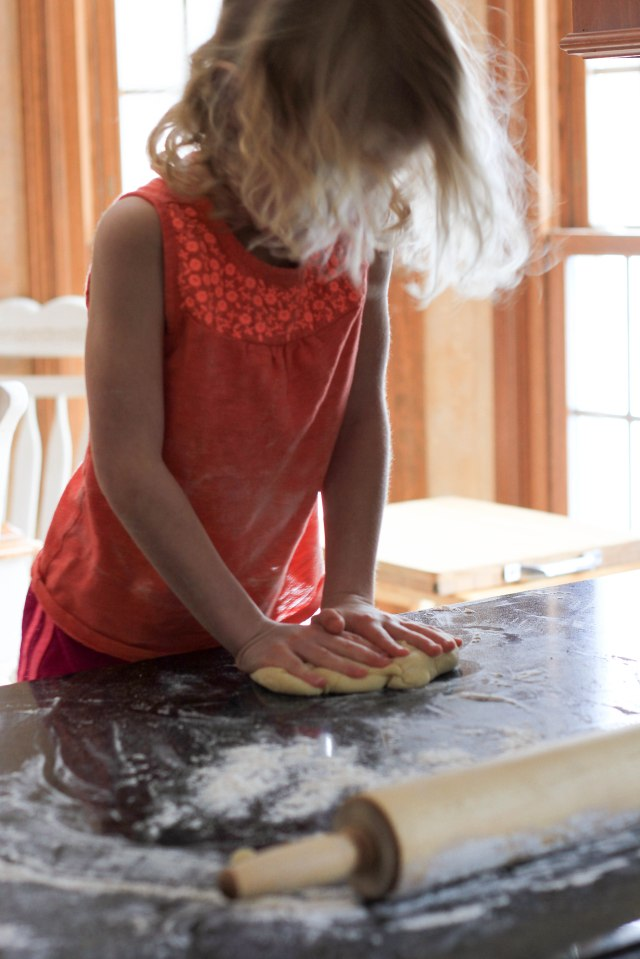 smashing dough