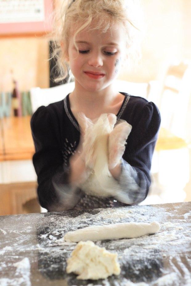 dough worms