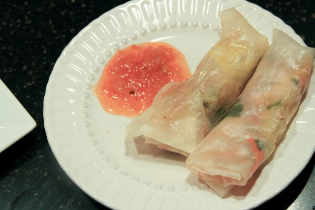 Main Course Spring Roll