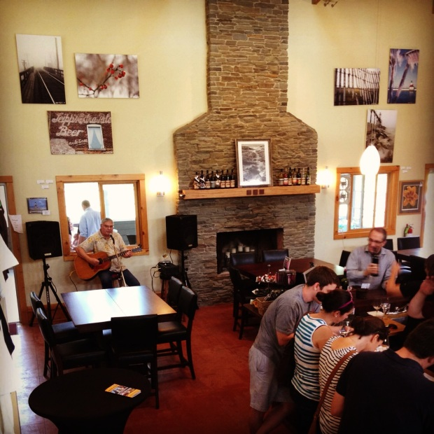 Wineries with lunch, tables and live music can be an exception to the no-weekend rule.