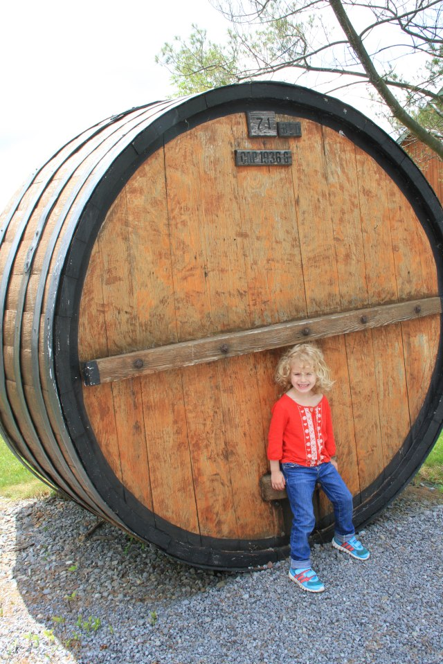 Kids love big tanks and barrels!