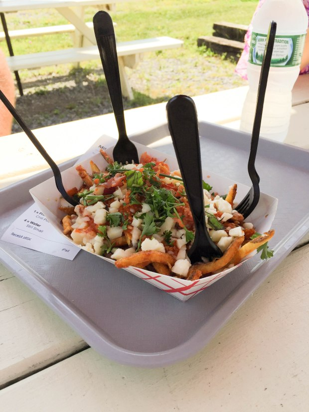 chili poutine fries flx wienery