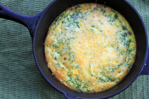 denver omelette frittata