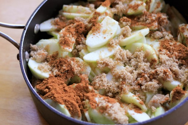 apple pie mixture