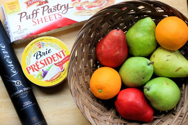 pear and brie ingredients